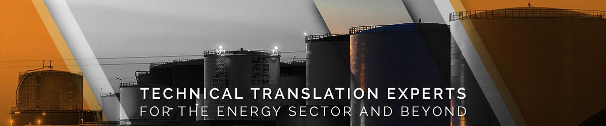 energy sector translation Services